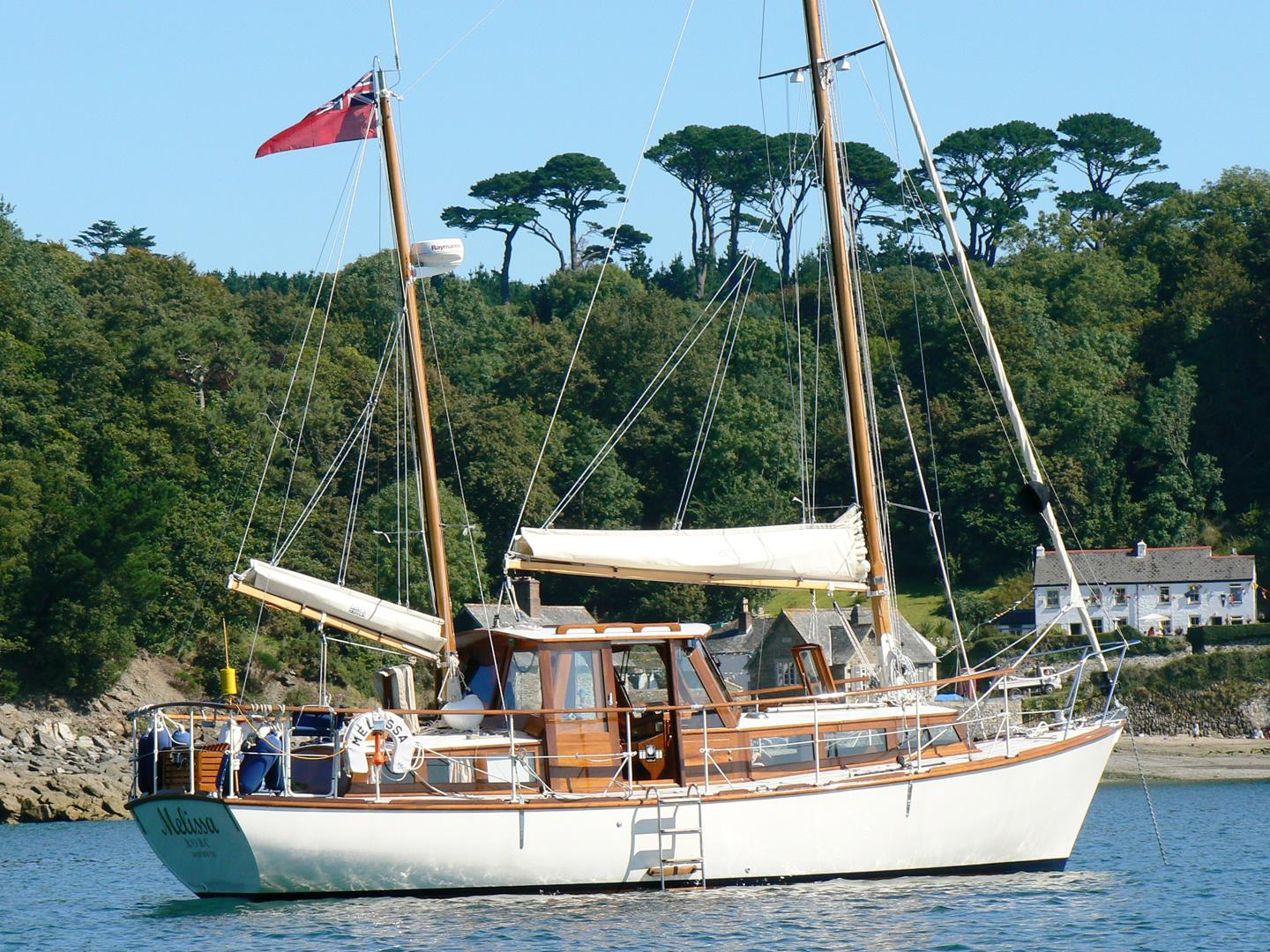 SOLD - 31ft  'MISS SILVER CLASS' KETCH MOTOR-SAILER - 1963 - Professionally  Restored