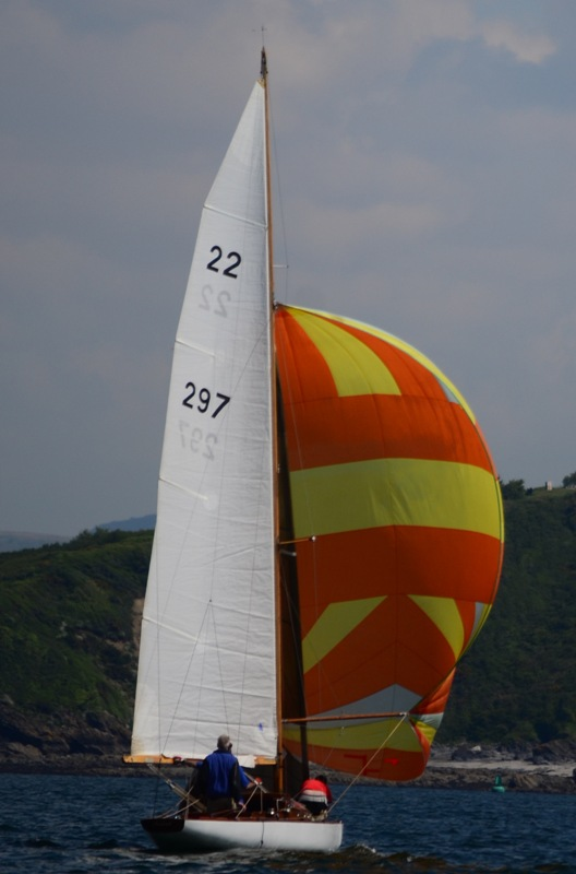 37ft AVRID LAURIN 22 SQUARE METRE 'CHADRAK' restored to full racing  specification - Lying: Wales