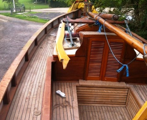 Citara: 36ft ALDOUS SMACK YACHT - professionally restored - Lying: Essex